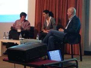 Salud 2.0 en el #EBE13, mesa redonda con la gran María Lorman