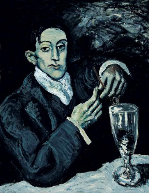 El bebedor de absenta – Pablo Picasso