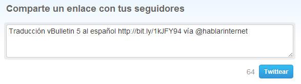 Añadir el usuario de Twitter al botón de JetPack para WordPress.org (con usuario)