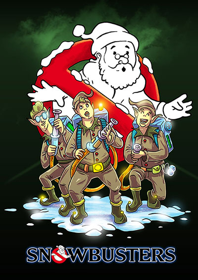 Santa's Hollywood Holiday: SnowBusters