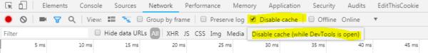 Cómo desactivar la caché en Google Chrome