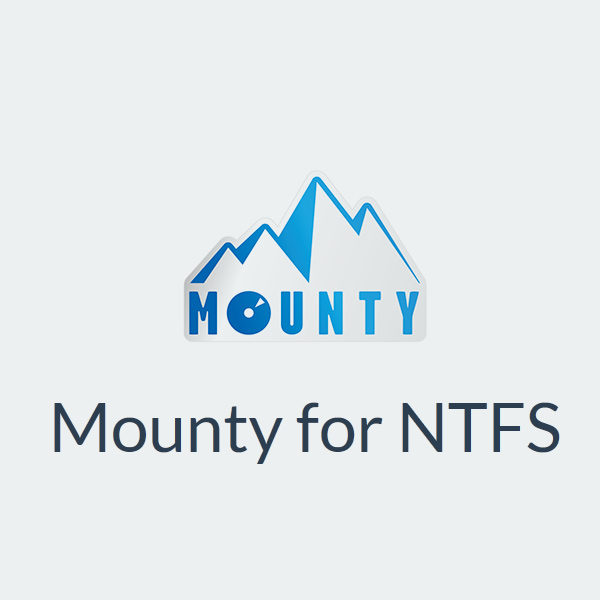 Mounty for NTFS: Alternativa gratuita a Paragon NTFS y Tuxera NTFS (MAC)