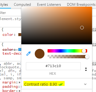 Cómo mejorar el contraste de tus textos con Google Chrome