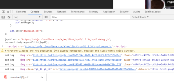 Cómo descargar un documento de solo lectura de Google Drive - paso 04