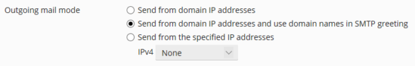 Send from domain IP addresses and use domain names in SMTP greeting
